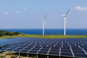 renewable energy program solar panel wind mills