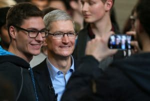 tim cook leadership in dublin ireland