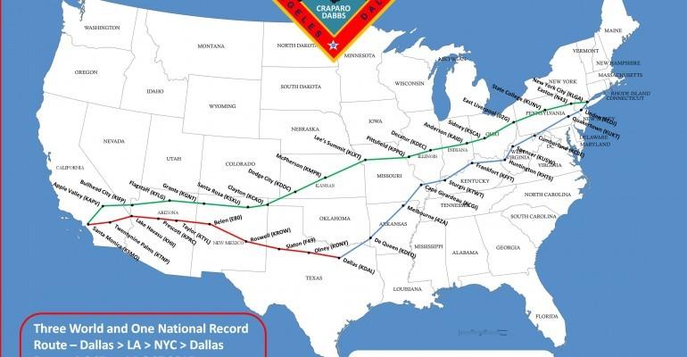Craparo Dabbs World Record Route