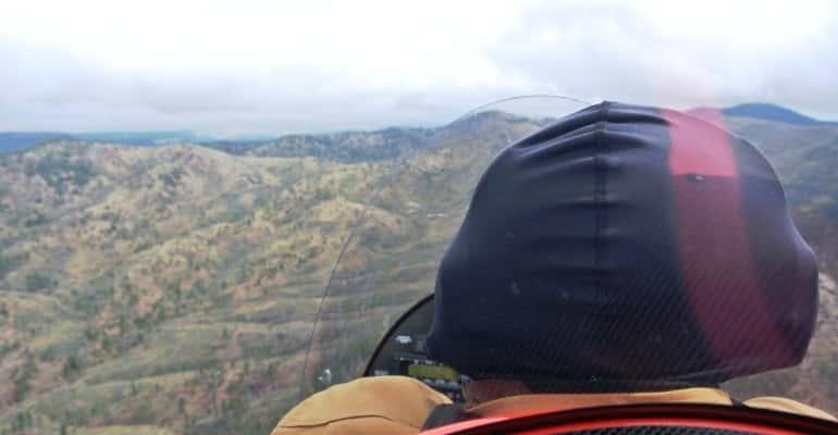 John maneuvering at 10000 feet outside Flagstaff S