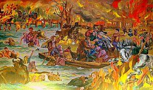 peshtigo fire worst us disaster
