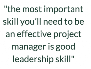 project management skills essential