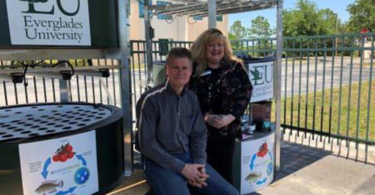 AquaGrove Takes Aquaponics Off-Grid at Everglades University