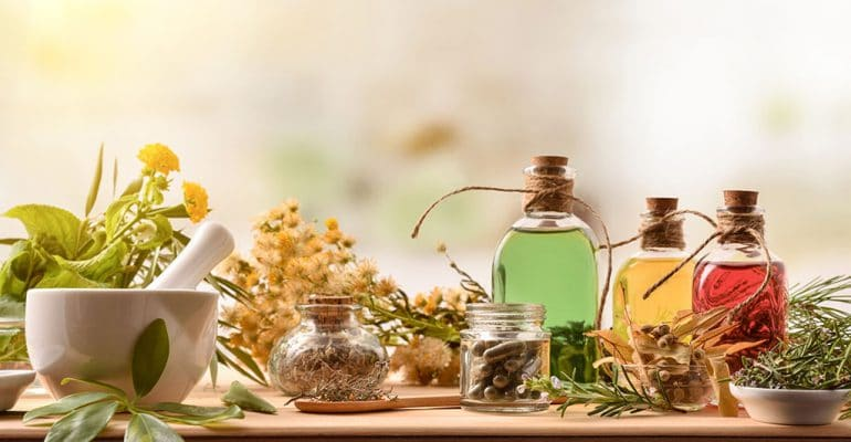 Complimentary & alternative medicine herbs and potions
